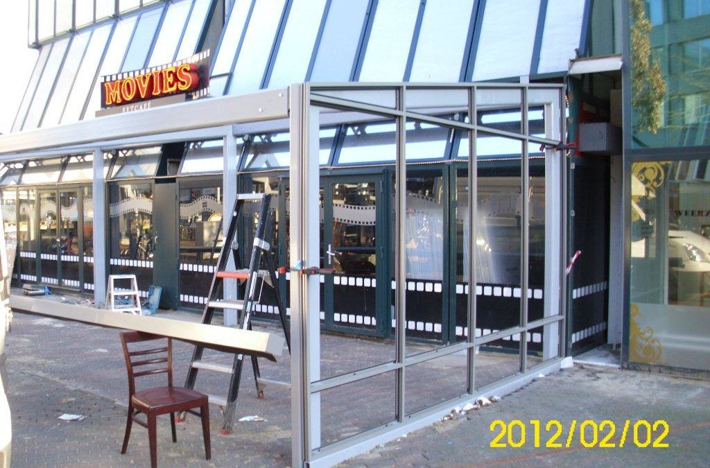 Uitbreiding Eetcafé Movies Te Eindhoven